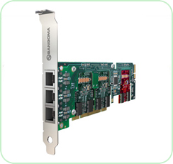 A500: Expandable 2 - 24 Port ISDN BRI Digital Telephony Card